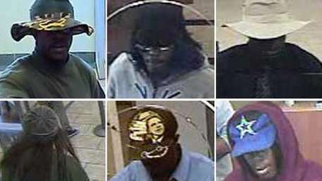 Nassau County police released surveillance images on Friday,