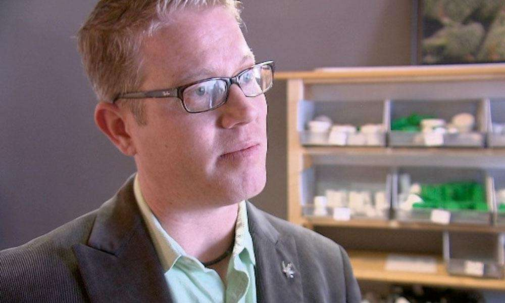 Erik A. Williams, a spokesman for Gaia Plant-Based Medicine in Colorado, said a coalition of business interests, lobbyists and advocacy groups worked together to help make marijuana legal in New York. Credit: John Prentice / News 12