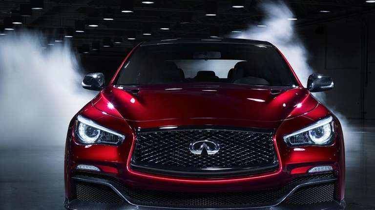 The Infiniti Q50 Eau Rouge.