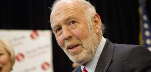 Hedge-fund investor James Simons on Dec. 14, 2011.