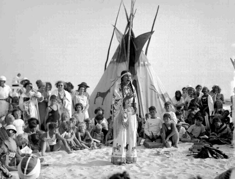 Jones Beach once had an Indian village located