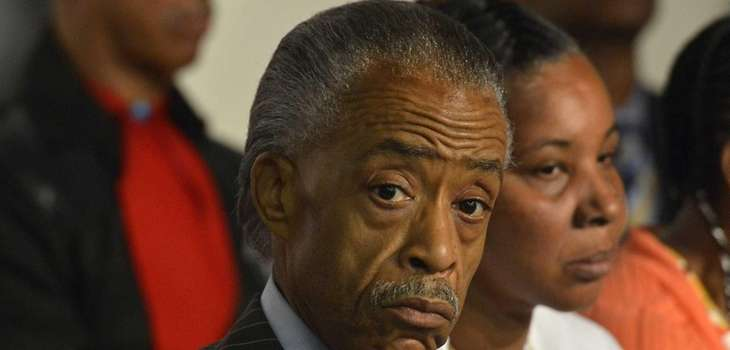 The Rev. Al Sharpton is seen alongside of