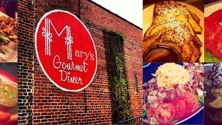 Mary's Gourmet Diner in Winston-Salem, North Carolina, landed