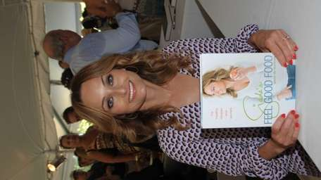 Chef and television personality Giada De Laurentiis shows