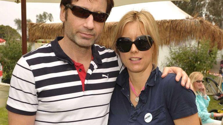 Actors David Duchovny and Tea Leoni have filed