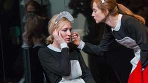 Cate Blanchett and Isabelle Huppert in a scene