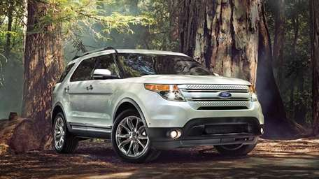 Sales of SUVs, including the 2014 Ford Explorer,