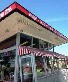 Sid's All American is an old-fashioned burger-shake stand