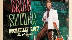 "Brian Setzer's ""Rockabilly Riot: All Original"" album."