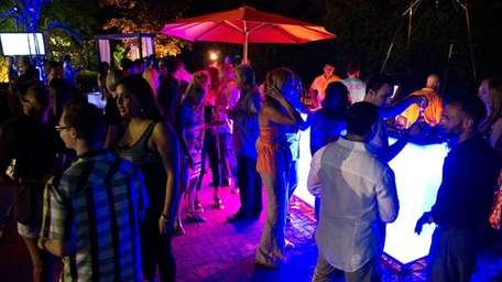 Even though Liquid Mondays take place outdoors at