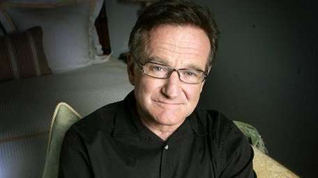 Robin Williams in Santa Monica, Calif. on June