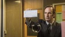 Actor Bob Odenkirk as Saul Goodman in a