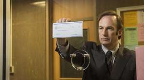 Actor Bob Odenkirk as Saul Goodman in a