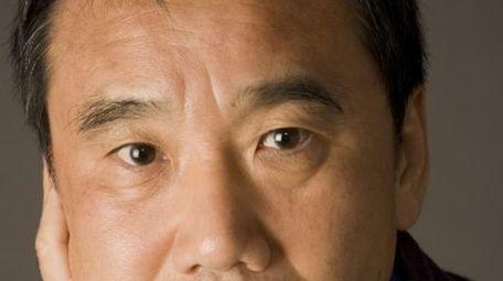 Japanese author Haruki Murakami.
