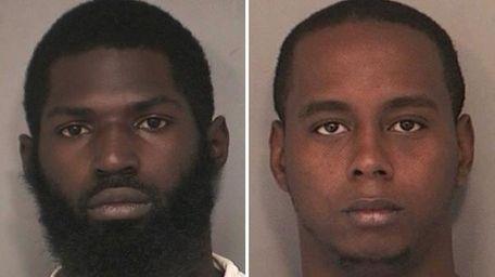 Shaheem K. Allen, left, 22, of Freeport, and
