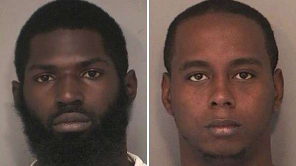 Shaheem K. Allen, left, 22, of Freeport, and