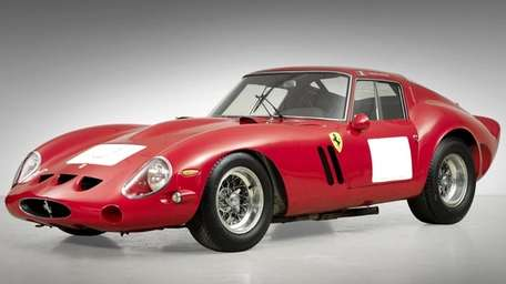 This 1962 Ferrari 250 Gran Turismo Berlinetta could