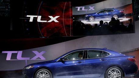 The 2015 Honda Motor Co. Acura TLX luxury