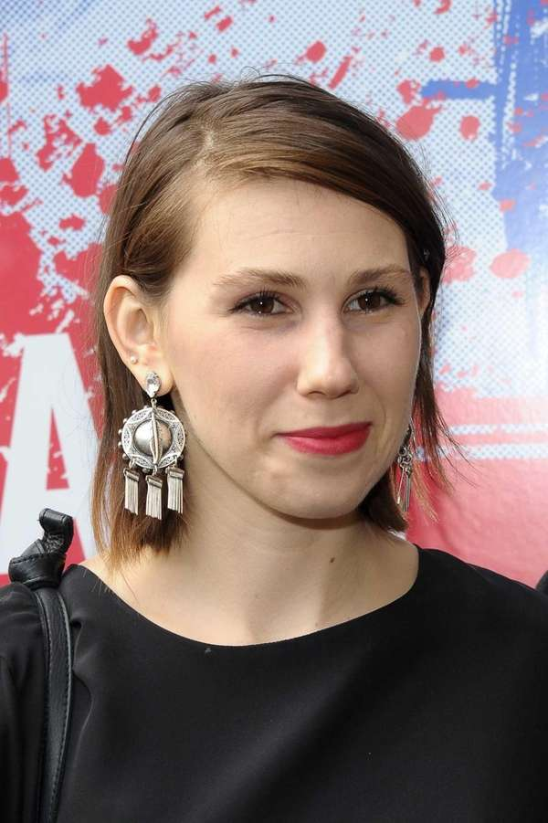 Actress Zosia Mamet attends the