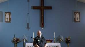 Rev. Dennis Walker, of the Holy Cross Lutherian