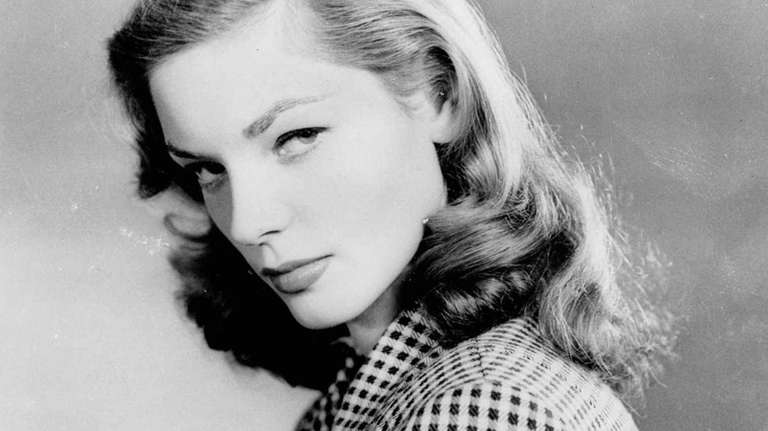 Lauren Bacall in a 1944 photo.