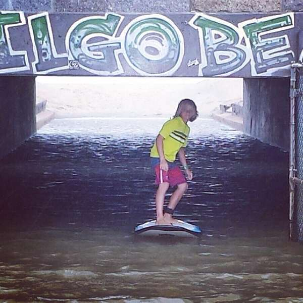 This is the underpass at Gilgo Beach