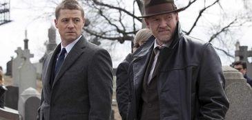 """""""Gotham"""" on Fox stars Ben McKenzie (left) as"""