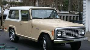 The 1973 Jeep Commando owned by James Bohuslaw.