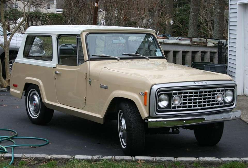 This 1973 Jeep Commando owned by James Bohuslaw