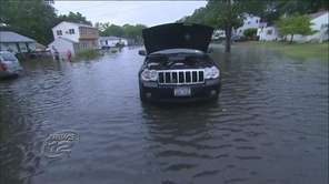 Officials say Long Island received a record-breaking amount