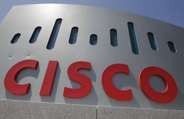 A Cisco building in Santa Clara, Calif. on
