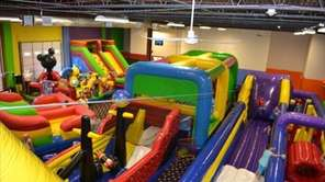 In addition to its inflatables, Bouncers & Slydos