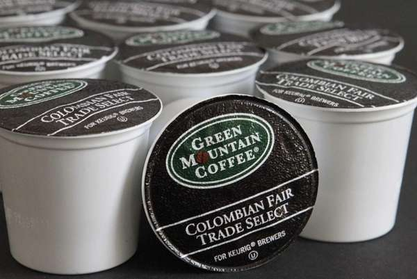 Brewing cups produced by Green Mountain Coffee Roasters