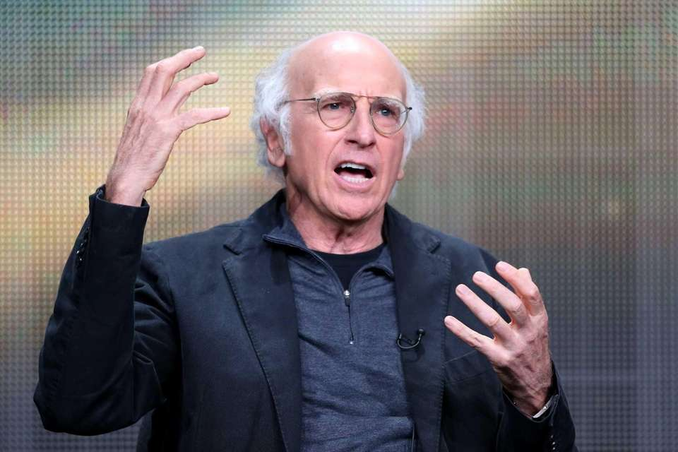 Best actor in a comedy nominees: Larry David,