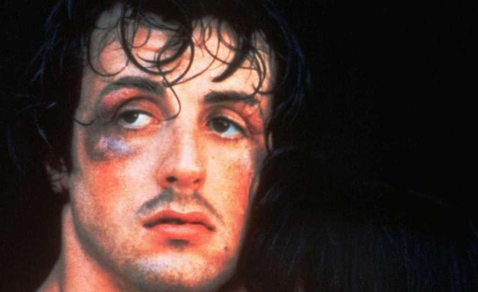 Sylvester Stallone as Rocky in a scene from