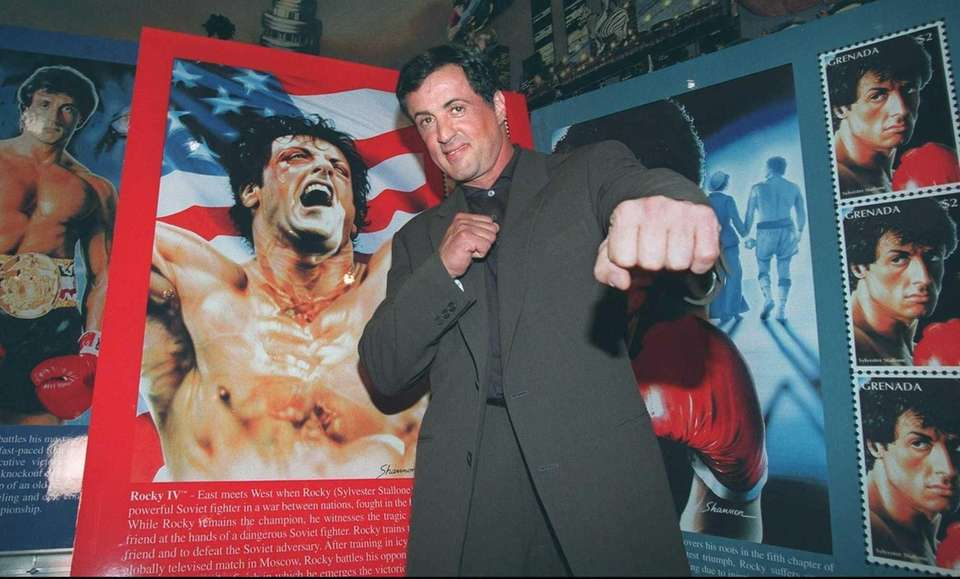 "Sylvester Stallone, not only the star of ""Rocky,"""