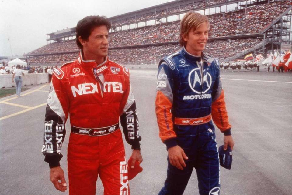 Sylvester Stallone, with Kip Pardue, stars in Warner