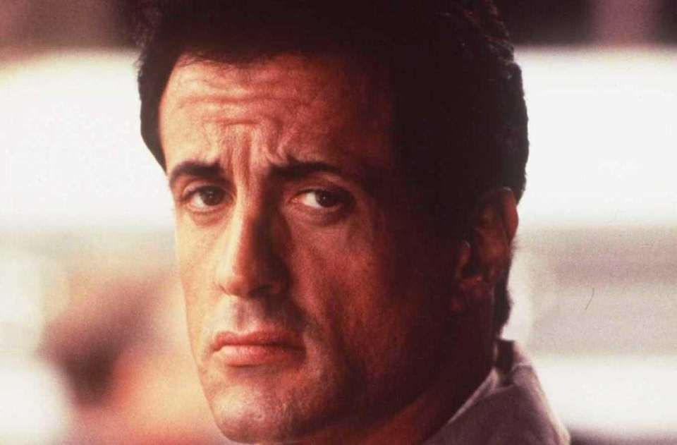 "Sylvester Stallone starred in the action-suspense thriller ""Assassins,"""