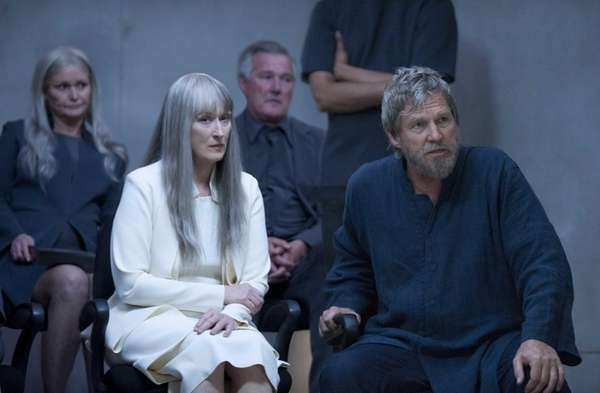 "Meryl Streep and Jeff Bridges in ""The Giver."""