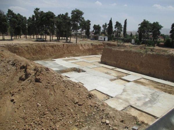 Shiraz cemetery.