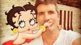 Simon Cowell posted a photo of himself with