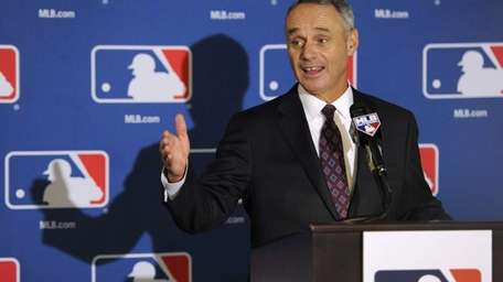 Major League Baseball chief operating officer Rob Manfred