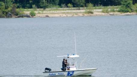 Suffolk police resumed their search Saturday, Aug. 16,