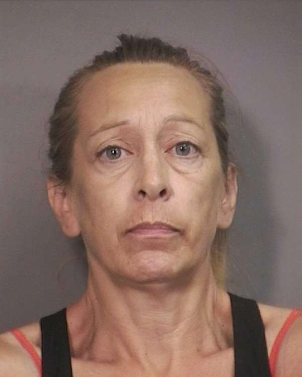 Gloria Haas, 53, of Island Park, was arrested