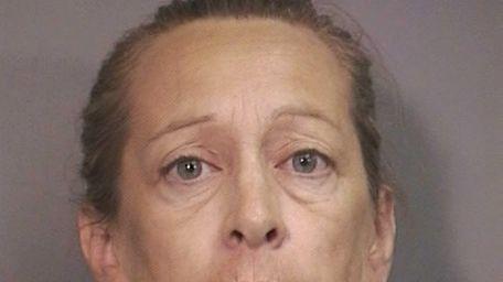 Gloria Haas, 53, of Island Park, was arrested
