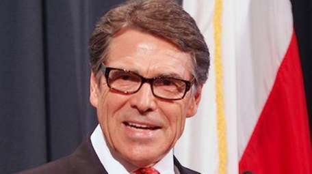 Gov. Rick Perry makes a statement in Austin,