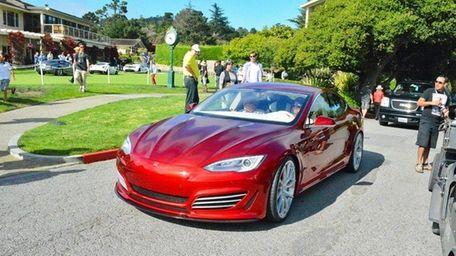 Saleen Automotive Inc. debuted the Tesla Foursixteen at