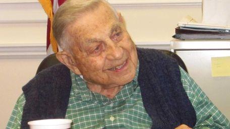 Lawrence J. Kaplan, a World War II veteran