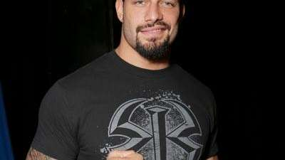 WWE Roman Reigns attends the WWE 2K15 SummerSlam