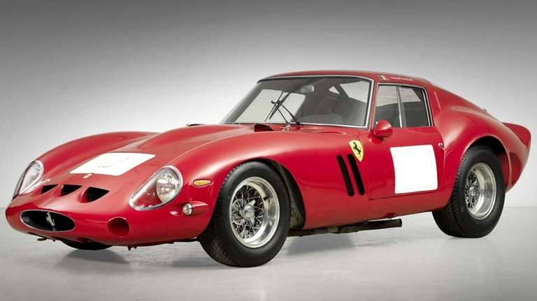 Ferrari Leads Classic Car Auction To Record 350m Tally Newsday